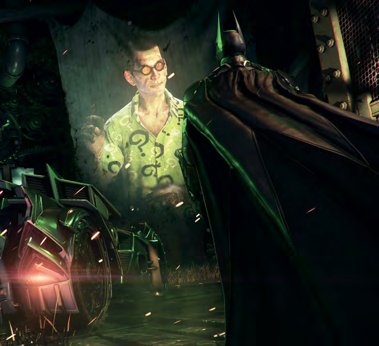 Batman Arkham Knight Batcave: BATMAN: ARKHAM KNIGHT – GALERIA
