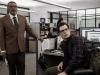 Perry White i Clark Kent