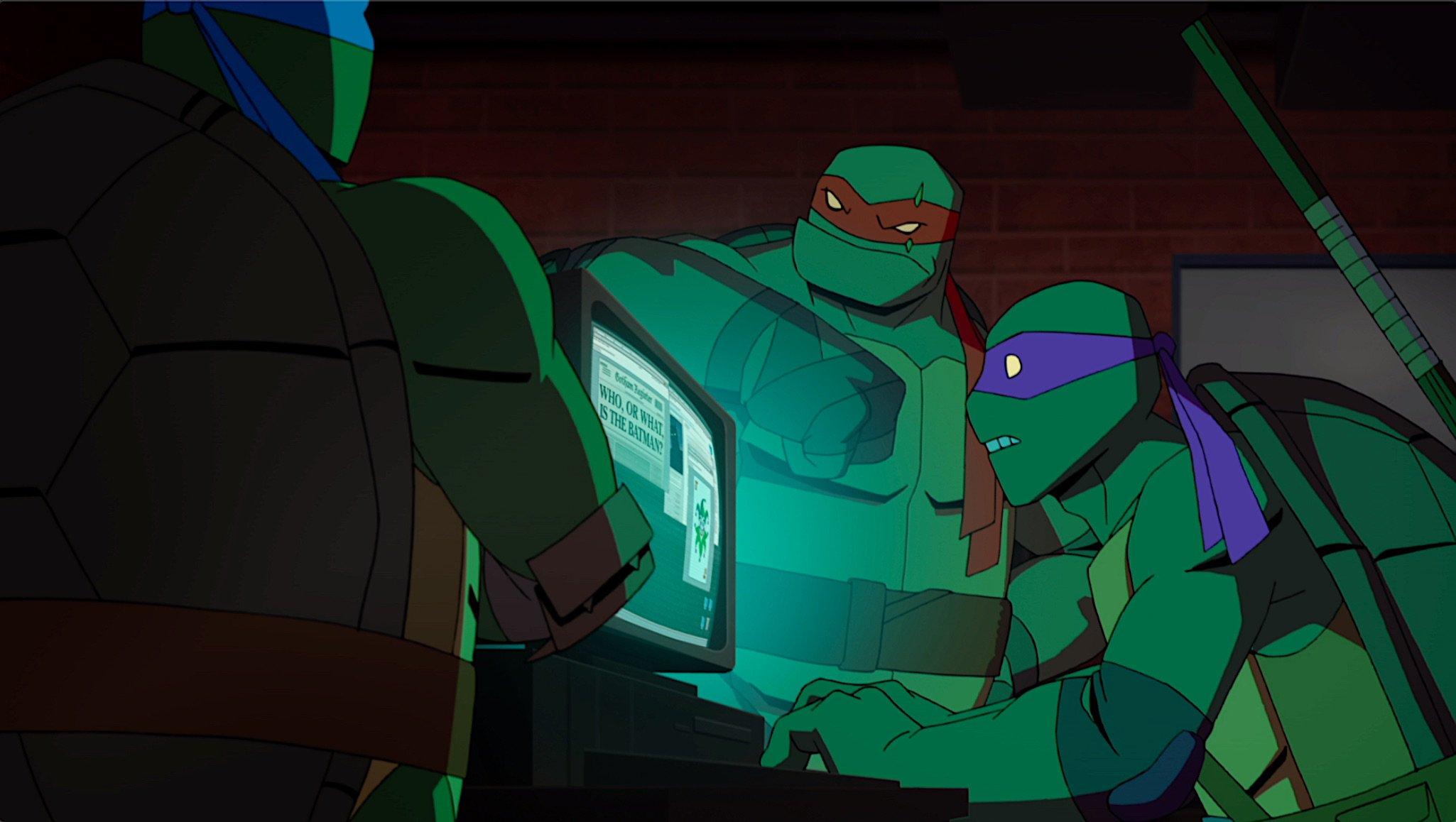 "Pierwszy zwiastun ""Batman vs. Teenage Mutant Ninja Turtles"""