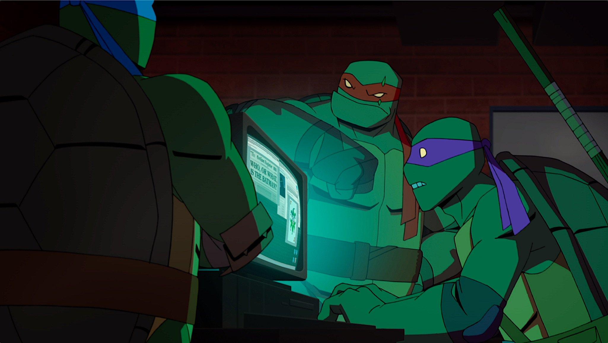 "Pierwszy zwiastun ""Batman vs. Teenage Mutant Ninja Turtles"""