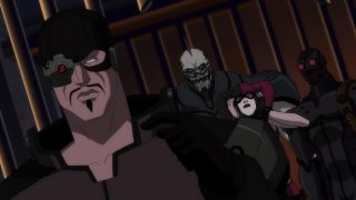 Deadshot, Harley Quinn, Black Spider i King Shark