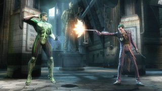 Green Lantern i Joker w Injustice: Gods Among Us