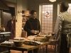 GOTHAM: L-R: Ben McKenzie, David Mazouz and Sean Pertwee in the
