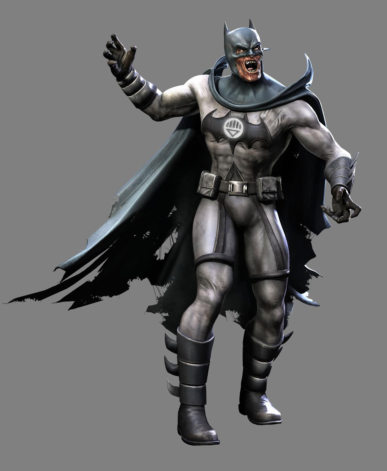 """Injustice: Gods Among Us"": Blackest Night DLC Trailer ... White Lantern Batman Arkham Origins"