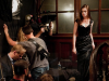 Selina Kyle i Christopher Nolan na planie TDKR