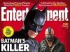 Okładka EW z Batmanem i Bane'em