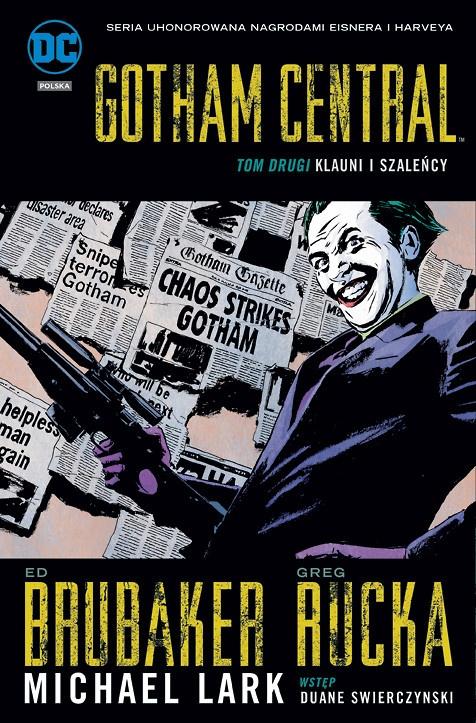 Gotham Central. Klauni i Szaleńcy
