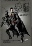 Concept art - Ben Affleck jako Batman