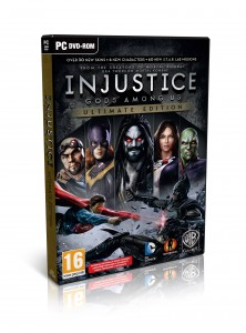 Injustice: Gods Among Us Ultimate Edition - box