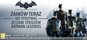 """Batman: Arkham Origins"" Legendarne stroje"