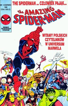 """Spider-Man #1"" TM-Semic"