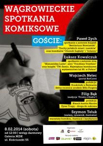 Plakat Wągrowieckiego Spotkania Komiksowego