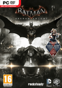 "Okładka ""Batman: Arkham Knight"""