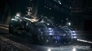 "Batmobile z ""Batman: Arkham Knight"""