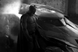 """Batman i Batmobl z """"Batman vs. Superman"""""""