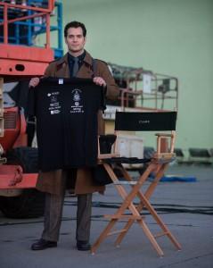 Henry Cavill jako Clark Kent