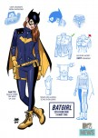 Projekt nowego stroju Batgirl