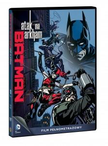 BATMAN ATAK NA ARKHAM DVD 3D