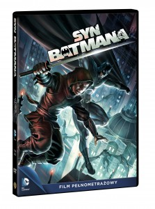 BATMAN SYN DVD 3D