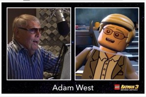 "Adam West w ""LEGO Batman 3: Beyond Gotham"""