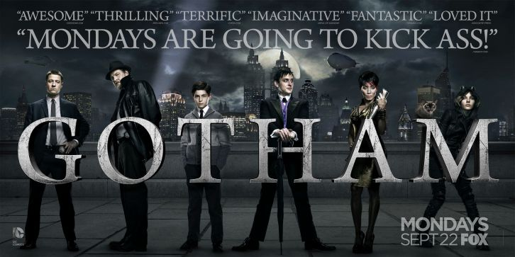 "Polska premiera ""Gotham"" już jutro na Universal Channel!"