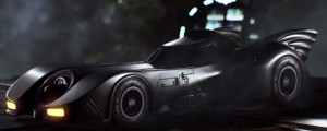 "Batman: Arkham Knight - Batmobile z ""Batmana"" Tima Burtona"