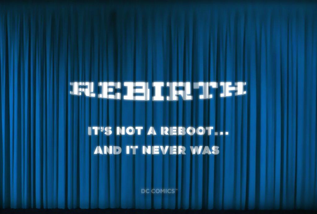Rebirth - DC Comics ogłasza twórców (relacja na żywo!)