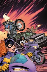 BATGIRL AND  THE BIRDS OF PREY #2