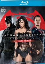 """""""Batman v Superman: Świt sprawiedliwości"""" Blu-ray"""