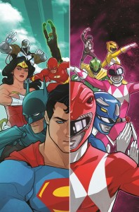 """Justice League/Mighty Morphin Power Rangers"""