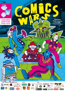 Comics Wars 2016