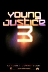 """""""Young Justice"""" - plakat 3 sezonu"""