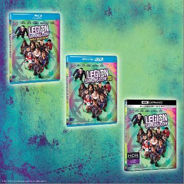 """""""Legion samobójców"""" na 4K Ultra HD Blu-ray, Blu-ray 3D, Blu-ray i DVD już w sprzedaży!"""