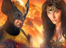 Wonder Woman vs Wolverine