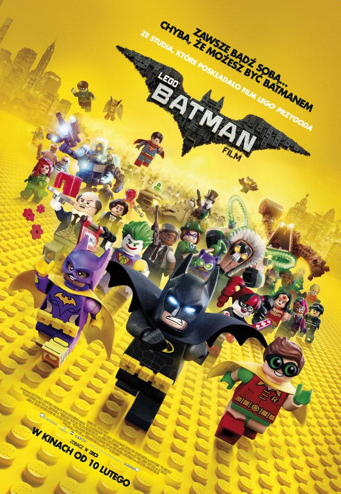 """Lista kin z pokazami """"The LEGO Batman Movie"""" w wersji oryginalnej z napisami od 10 lutego"""