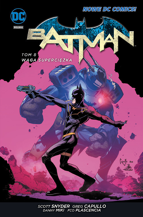 """""""Batman, tom 8: Waga superciężka"""" i """"Harley Quinn, tom 3: Cmok, cmok, bang, dziab!"""" już w sprzedaży"""
