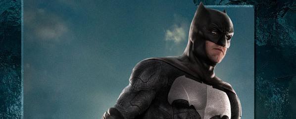"""Krótka zapowiedź trailera """"Justice League"""" z Batmanem, oraz jego solowy plakat"""