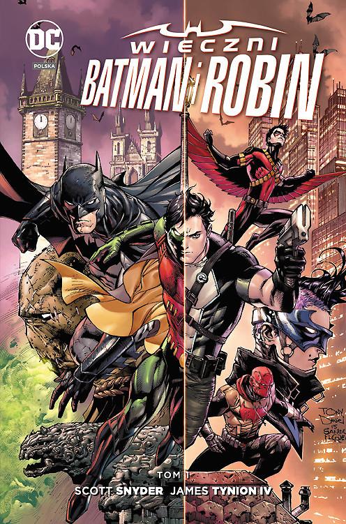 """""""Wieczni Batman i Robin, tom 1"""" już w sprzedaży"""