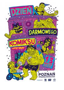 Dzień darmowego komiksu 2017 Poznań