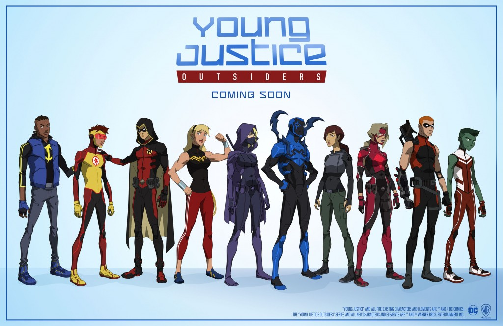 """Young Justice: Outsiders"""