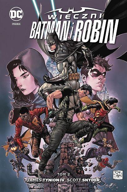 """""""Wieczni Batman i Robin, tom 2"""" , """"Harley Quinn, tom 5"""" i """"Liga Sprawiedliwości, tom 8"""" już w sprzedaży"""