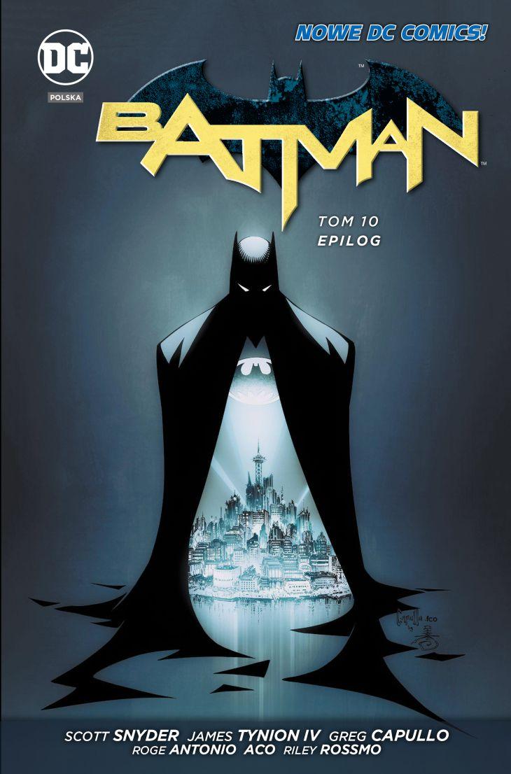 """""""Batman, tom 10: Epilog"""" już w sprzedaży"""