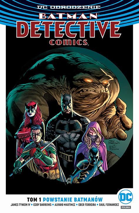 """""""Batman Detective Comics – Powstanie Batmanów, tom 1"""" i """"Liga Sprawiedliwości – Maszyny zagłady, tom 1"""" od dziś w sprzedaży"""
