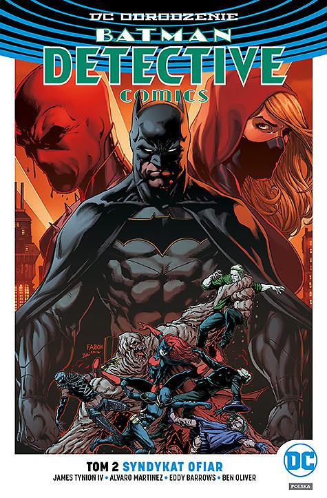 """""""Batman Detective Comics, Tom 2: Syndykat ofiar"""" już w sprzedaży"""