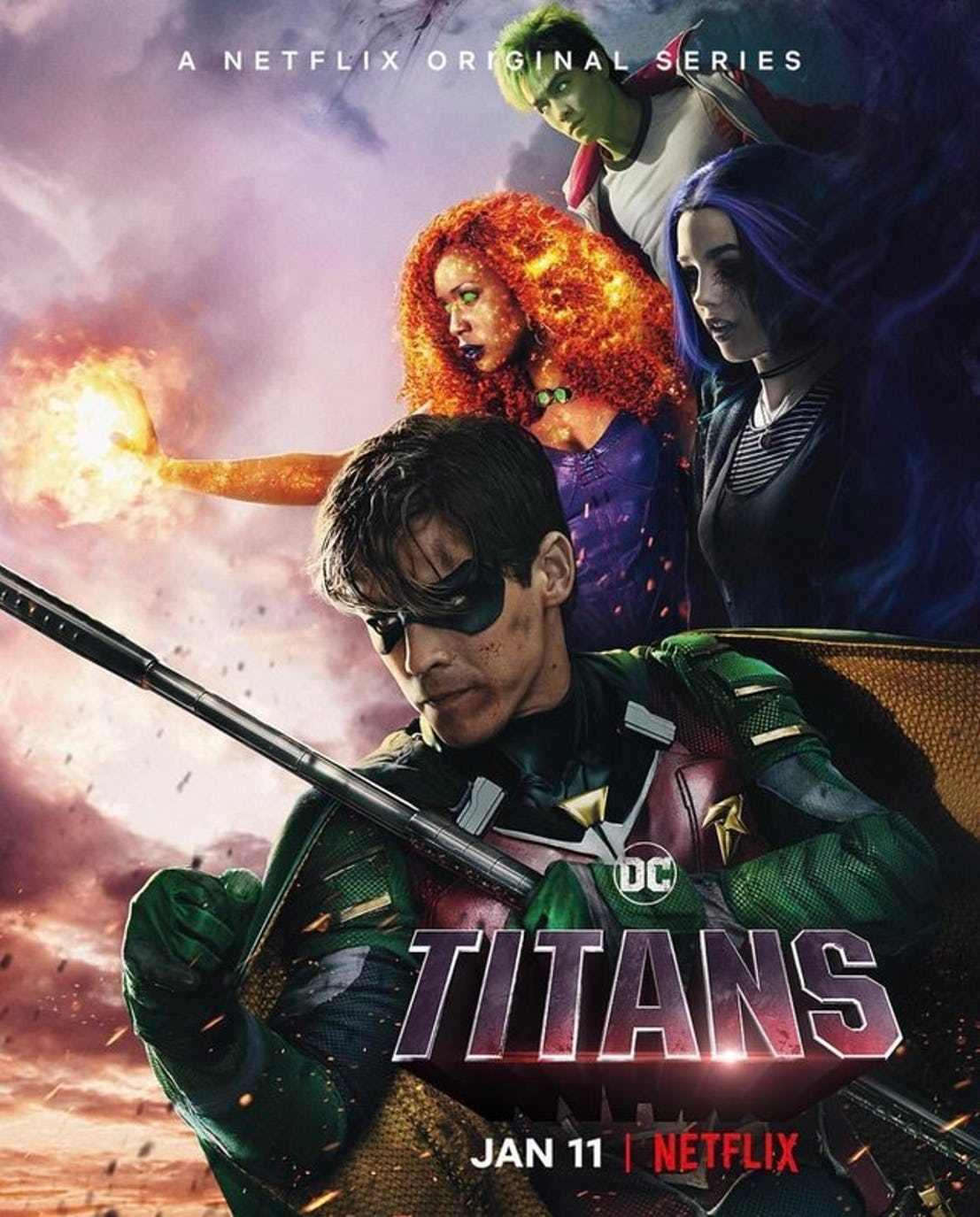 "Pierwszy sezon serialu ""Titans"" już na Netflixie"