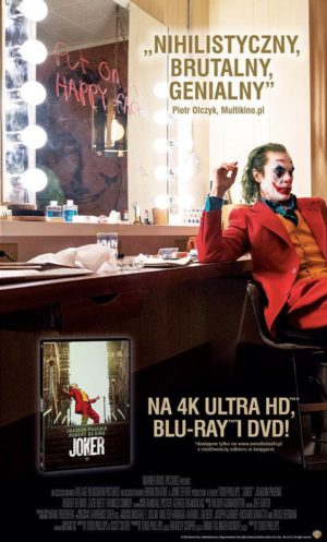 """Joker""  już na 4K Ultra HD Blu-ray, Blu-ray i DVD"