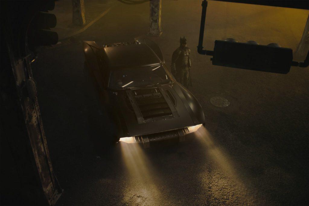 """Pierwsze spojrzenie na Batmobil z """"The Batman"""""""
