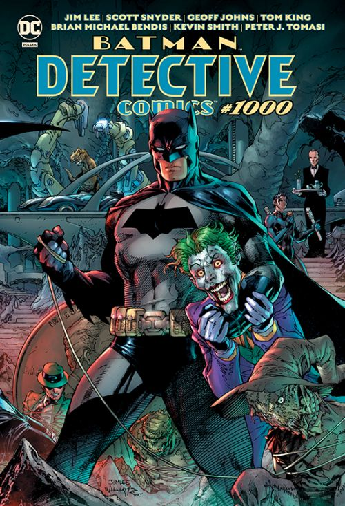 """Detective Comics #1000"", ""Batman, Tom 11: Upadek"" i ""Harley Quinn, Tom 5: Głosuj na Harley"" już w sprzedaży"
