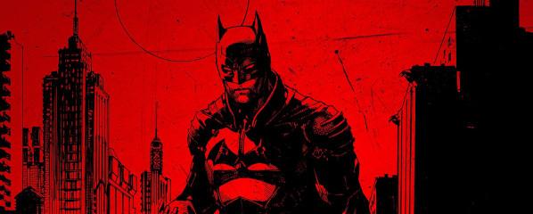 """""""The Batman"""" na oficjalnym logo i pierwszym plakacie z okazji DC FanDome"""