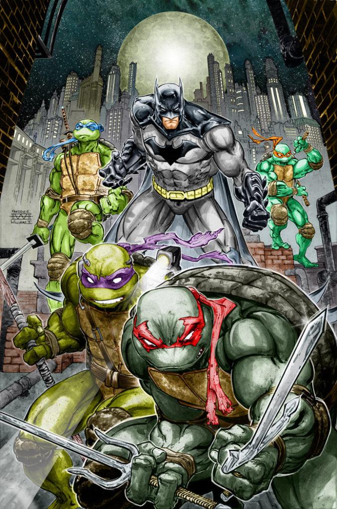 Egmont na 2021: Batman/Żółwie Ninja i inne